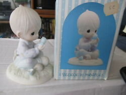 Precious Moments I Believe In Miracles Figurine With Box