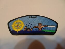 Military Patch Sew On Navy I Believe Brave