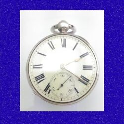 Regency Mint Silver Chain Fusee Verge - Baron Hill Of Crewe Pocket Watch 1822