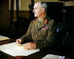 Sir Archibald Wavell Viceroy Of India 11x14 Silver Halide Photo Print