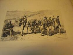 1865 Antique Edwin Forbes Life Studies Of The Great Army39 Engravingscivil War