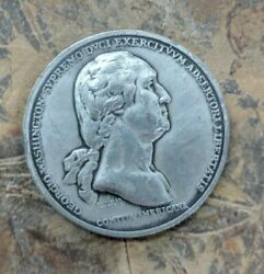 George Washington Americas First Medals Washington Before Boston Pewter Coin