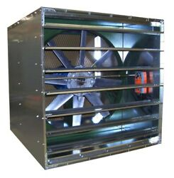 30 Reversible Supply And Exhaust Fan - 8680 Cfm - 230/460v - 3 Ph - Dd - Cabinet
