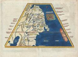 1522 Fries Map of China and Japan - 1st European Map of East Asia