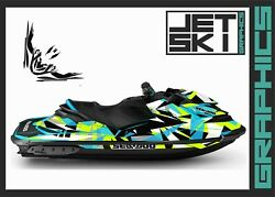 Seadoo Rxp Rxpx 2012-2020 Graphics Kit Decals Stickers Set For Jet Ski