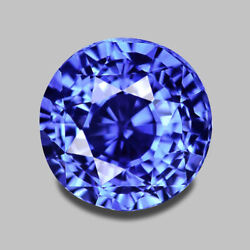 2.23cts Calibrated 7mm Round Natural Ceylon Blue Sapphire Video In Description