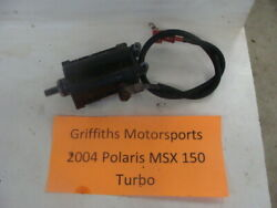 2004 Polaris Msx 150 Turbo 750 04 110 Electric Starter Motor Oem W Wire Cable
