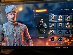 Cod Black Ops 4 All Blackout Characters Unlocked + Ps4 Game And Accessories