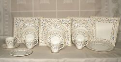 New Modern Four 5 Pieces Place Setting Toscana Gien New