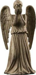 Ikon Collectables Doctor Who - Weeping Angel Christmas Tree Topper Ornament Free