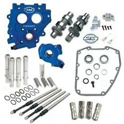 Sands 583ce Easy Chain Drive Camshaft Cam Chest Plate Pushrod Kit Harley 06-17 583