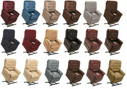 Pride Mobility Lc-358m Heritage Electric Recliner Power Lift Chair Medium New