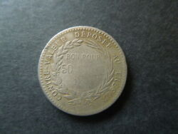 J775 Coins Martinique 1897 France Colony 50 Cent. Scarse