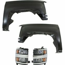 Right+Left Side New Auto Body Repair Kit for Chevy LH & RH Silverado 2500 HD