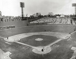 Fenway Park Old Boston Red Sox Mlb Baseball Photos Ted Williams Cy Young Choices
