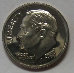 2000-s Proof Silver Roosevelt Dime Shipped Free Best Prices On Ebay Nice Coins