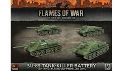 Battlefront FoW WWII Soviet 15mm SU-85 Tank-Killer Battery Pack SW