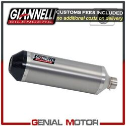 Full Exhaust System Giannelli Tit/carb + Catalyst For Honda Cb 650 F 2014 2016