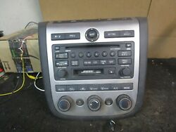 03 04 Nissan Murano Radio 6 Disc CD Cassette Player Mechanism OEM 28188 CA000