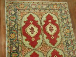 Antique Turkish Sivas Herekeh Fine Rug Size 4and039x5and0396and039and039