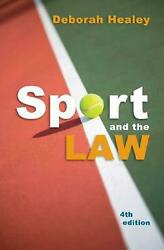 Sport And The Law By Deborah Healey English Paperback Book Free Shipping