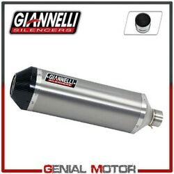 Full Exhaust System Giannelli Tit/carb + Cat Ducati Multistrada 1200 2012 12