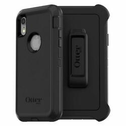 OtterBox DEFENDER SERIES Case amp; Holster for iPhone XR Black
