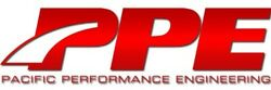 PACIFIC PERFORMANCE ENGINEERING 116111101 Race Exhaust Manifolds With Up-Pipes