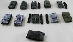 Battlefront FoW WWII Soviet 15mm Loose Mini T-34 Tanks #8 NM