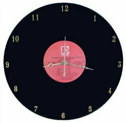 Motion Picture Soundtracks - Vinyl Lp Record Wall Clock By Rock Clock