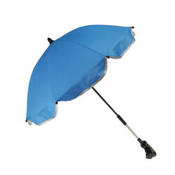 Mini Baby Sun Umbrella Parasol Shade Covers for Pram Stroller Buggy Blue