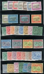 St Kitts And Nevis 24 - 36 37 51 Missing 43 52 - 63 Very Fine Mint