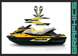 Seadoo Rxt Rxtx Is As Rs 255 260 300 2009-2017 Decals Graphics Kit Sticker