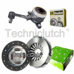 Valeo 2 Part Clutch Kit And Luk Csc For Renault Kangoo Be Bop Mpv 1.5 Dci
