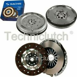 Nationwide 2 Part Clutch Kit And Sachs Dmf For Audi A3 Convertible 2.0 Tfsi