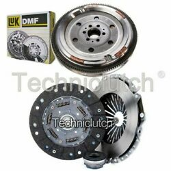 Nationwide 3 Part Clutch Kit And Luk Dmf For Audi A4 Estate 1.8 T Quattro