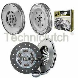 Nationwide 3 Part Clutch Kit And Luk Dmf For Vw Passat Saloon 1.9 Tdi 4motion