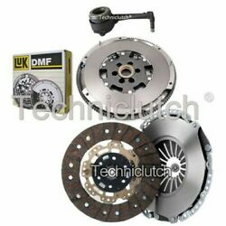 Nationwide 2 Part Clutch Kit And Luk Dmf And Csc For Audi Tt Coupe 1.8 T Quattro