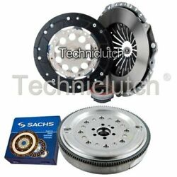 Nationwide 3 Part Clutch Kit And Sachs Dmf For Audi A4 Estate 1.8 Quattro