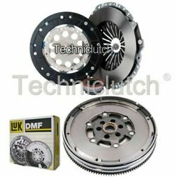 Nationwide 3 Part Clutch Kit And Luk Dmf For Audi A6 Estate 1.8 T