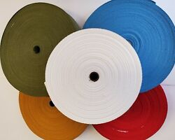 1 1/4 Inch Wide Choose A Color Cotton Rug Binding Tape For Rug Hooking 72 Yards