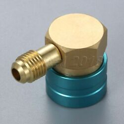 Brass Refrigerant Low Side R1234yf to R134A Hose Adapter Quick Coupler Vehicle