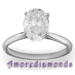 8.05 ct GIA J SI1 natural oval diamond solitaire engagement ring platinum size 6