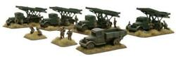 Battlefront FoW WWII Soviet 15mm Guards Rocket Mortar Battalion Box SW