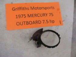 1975 Mercury Outboard 7.5hp 75 Ml Boat Motor Timing Spark Pick Up Advance Ring