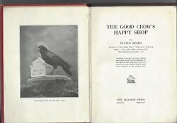 The Good Crow's Happy Shop By Patten Beard Hardcover The Pilgrim Press 1917 1st