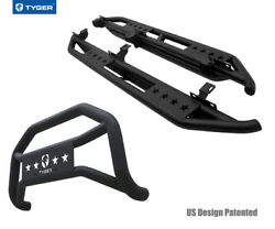 For 10-18 Wrangler 4 Door Excl.winter Edition Tyger Armor And Bumper Guard Combo