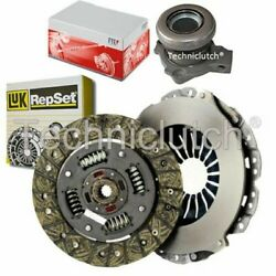 Luk 2 Part Clutch Kit And Fte Csc For Vauxhall Astra Hatchback 1.8 16v Dual-fuel