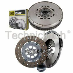 ECOCLUTCH 3 PART CLUTCH KIT AND LUK DMF FOR AUDI COUPE COUPE 2.8