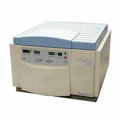 THERMO IEC CENTRA CL3 CL-3 BENCHTOP LAB VENTILATED CENTRIFUGE 120V w/ROTOR
